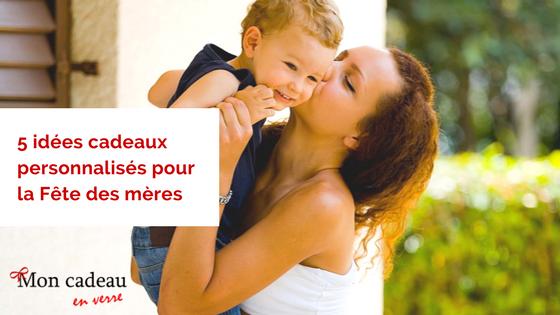 5 idées cadeaux personnalisés pour la Fête des mères