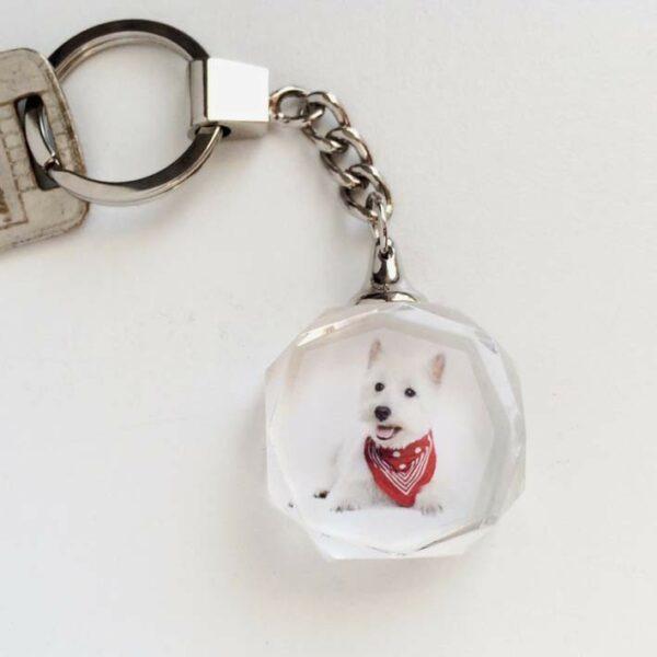 porte clés imprimé avec photo en couleur