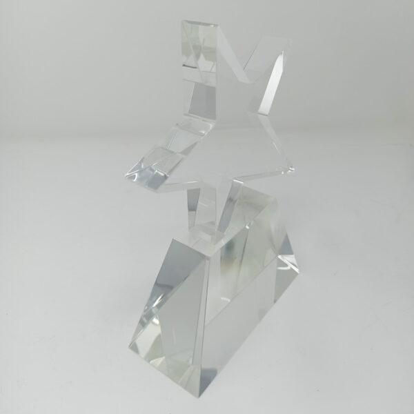 gravure sur trophée en verre
