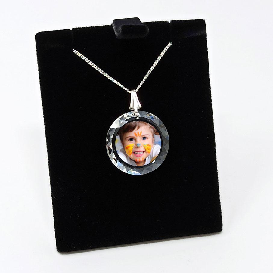 photo couleur imprimé sur pendentif swarovski